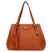 BOLSA SHOPPING BAG TRISSE CARAMELO