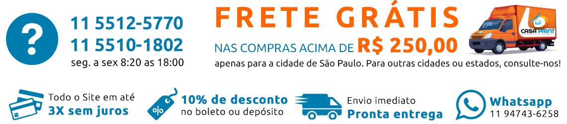 frete grátis nas compras acima de r$ 250,00. apenas para são paulo/ capital