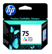 Cartucho HP 75 original CB337WB Color | D4260 | J6480 | C4440 | C4550