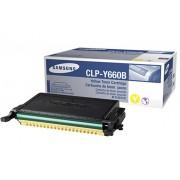 Toner Samsung Original CLP-Y660B Yellow | CLP-610 | CLP-660 | CLX-6200