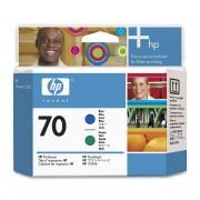 Cabeça de impressão HP 70 C9408A Blue | Green | Z2100 | Z5200 | L3S81A | B9180