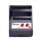 Impressora Portátil Mobile Térmica Leopardo A8 |  58 mm (2 Polegadas)