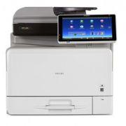 Multifuncional Ricoh MP C306 Laser Color com entrada SD | Duplex | Rede