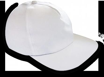 100 Bonés Brancos para Sublimação  - ECONOMIZOU
