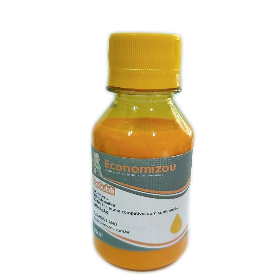 100ml Tinta Sublimática Epson Amarela (Yellow)  - ECONOMIZOU