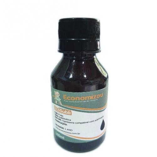 100ml Tinta Sublimática Epson Preta (Black)  - ECONOMIZOU