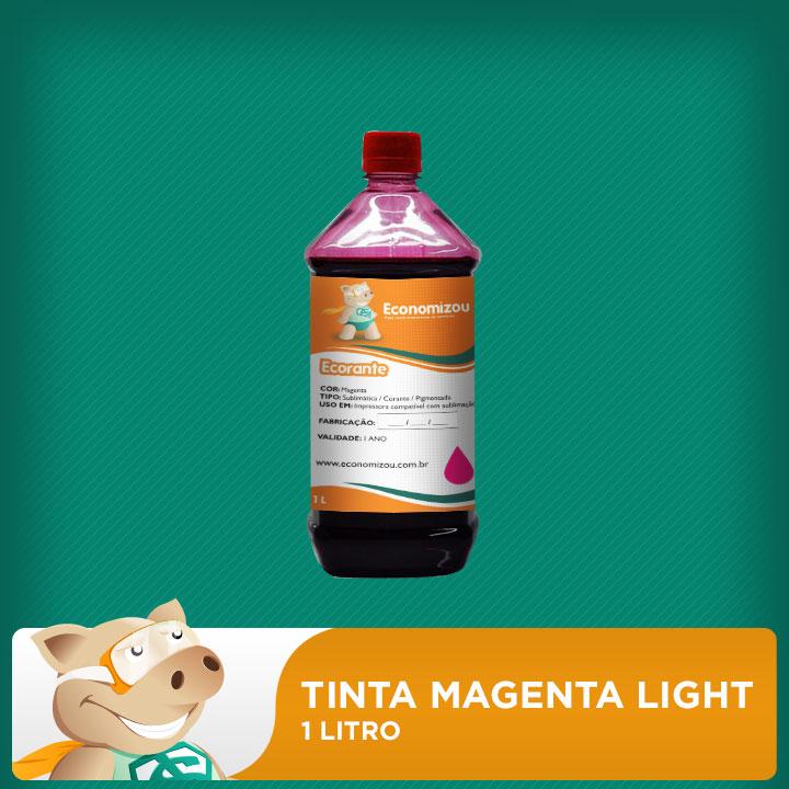 1 Litro Tinta Corante Epson Vermelha Light (Magenta Light)  - ECONOMIZOU
