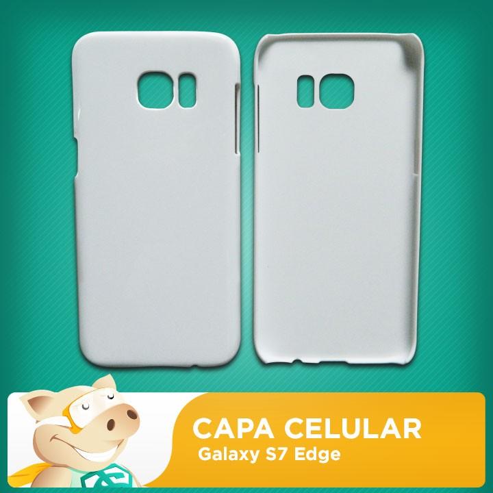 Capa 2D para Sublimação Galaxy S7 Edge  - ECONOMIZOU