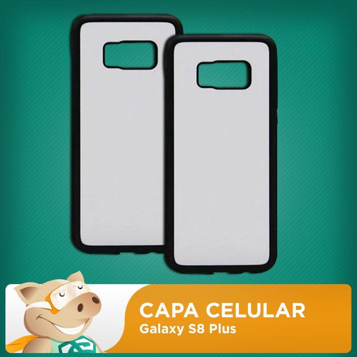 Capa 2D para Sublimação Galaxy S8 Plus  - ECONOMIZOU