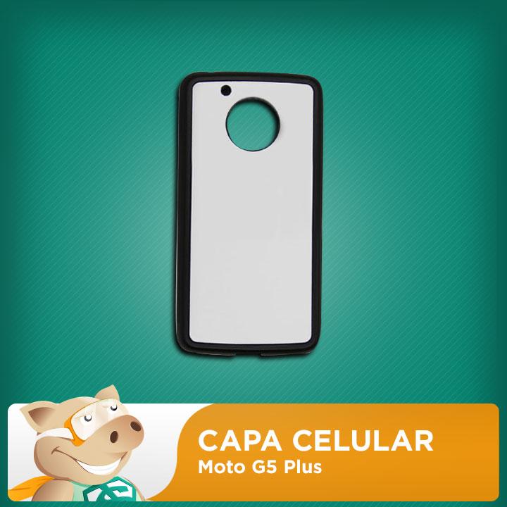 Capa 2D para Sublimação Moto G5 Plus  - ECONOMIZOU