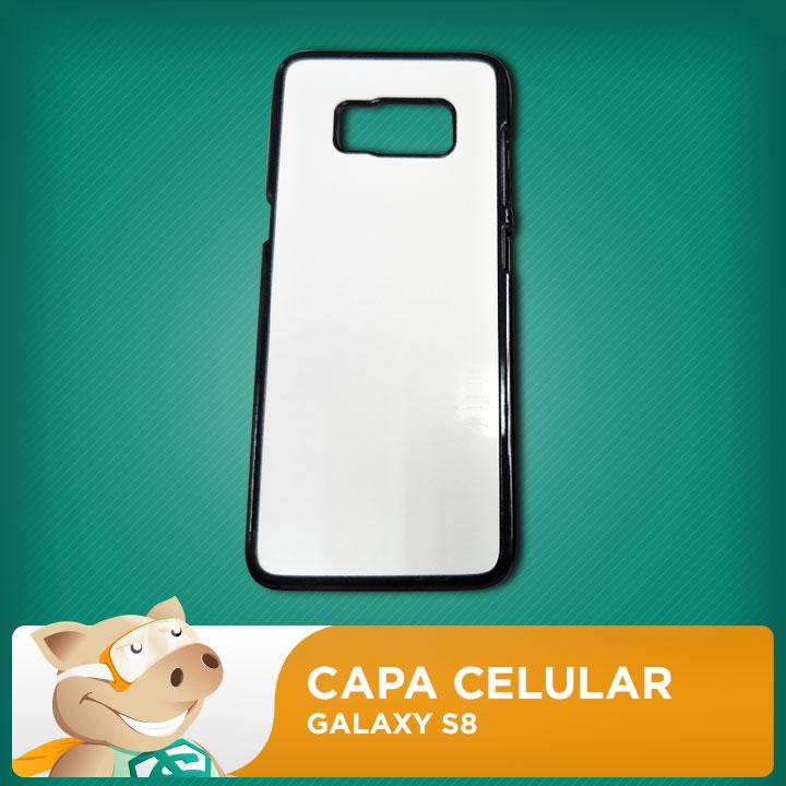Capa 2D para Sublimação Galaxy S8  - ECONOMIZOU