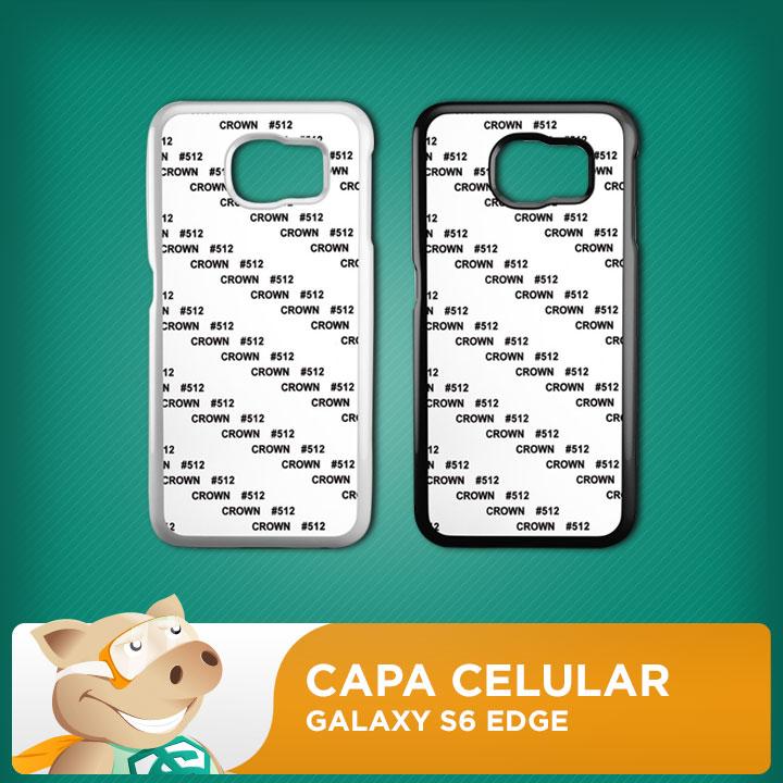 Capa 2D para Sublimação Galaxy S6 Edge  - ECONOMIZOU