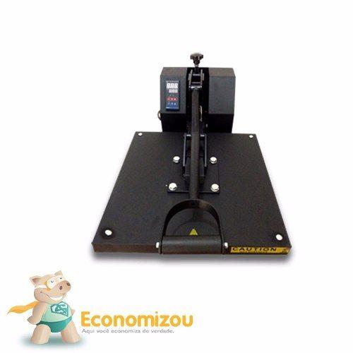 Kit Sublimação - Prensa Plana 38x38 + Multifuncional L395  - ECONOMIZOU