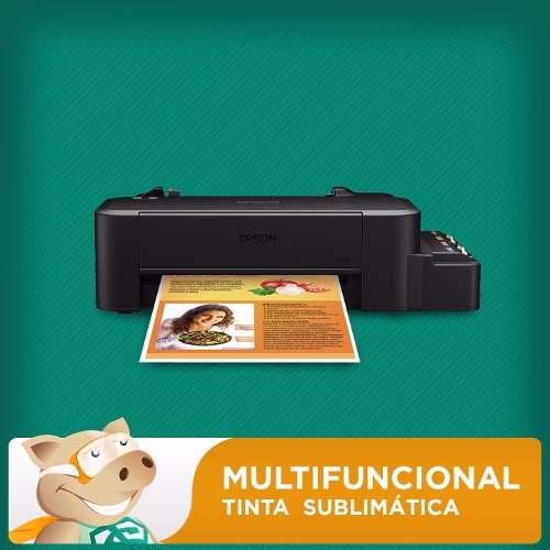 - Kit Sublimação - Prensa 8x1 + Impressora L120  - ECONOMIZOU