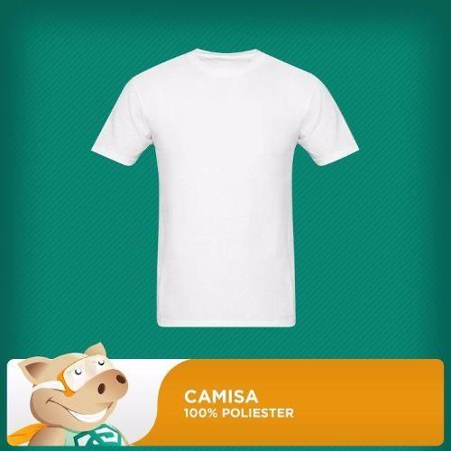 10 Unidades Camisas 100% Poliéster/sublimação/envio Imediato  - ECONOMIZOU
