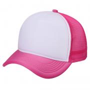 Boné Trucker rosa para Sublimação (Unidade)