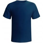 Camisa  de Poliéster azul royal - M
