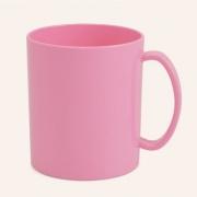 Caneca de polímero Rosa Claro - 350ml