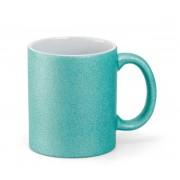 Caneca Glitter Azul Tiffany - 300ml
