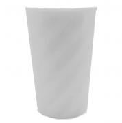 Copo Twister Branco Leitoso - Sem tampa