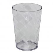 Copo Twister Branco Transparente - Sem tampa