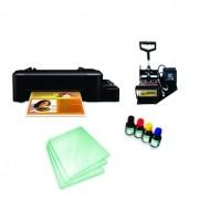 Kit sublimação A4  c/ prensa de canecas (prensa de canecas + impressora A4+ perfil de cores GRATIS!)