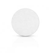 Placa de Sinalização Com Adesivo - Redonda - 9 cm - Pacote Com 10 Unidades