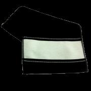Toalha de mão (lavabinho) para Sublimação - Preta