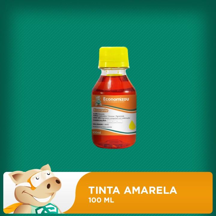 100ml Tinta Corante Epson Amarela (Yellow)  - ECONOMIZOU