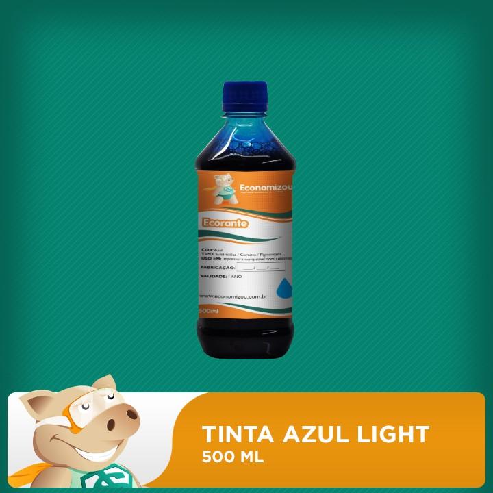 500ml Tinta Corante Epson Azul Light (Cyan Light)   - ECONOMIZOU
