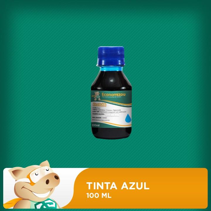 100ml Tinta Sublimática Epson Azul (Cyan)  - ECONOMIZOU