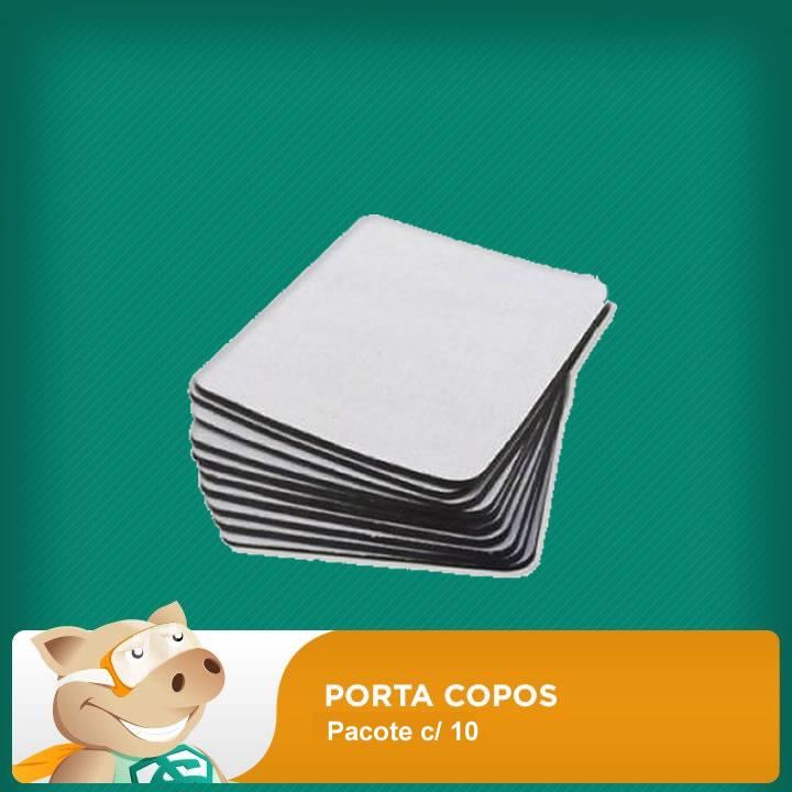 Porta Copos para Sublimação Pacote c/ 10  - ECONOMIZOU