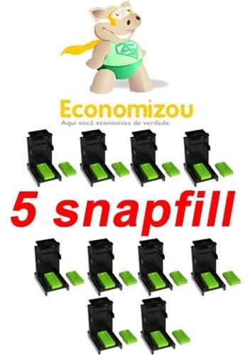 Snapfill Kit Com 5 Peças + Borrachas + Frete Grátis Brasil!  - ECONOMIZOU
