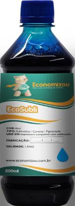 500ml Tinta Pigmentada Epson Azul (Cyan)  - ECONOMIZOU