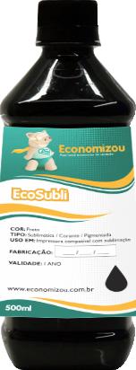 500ml Tinta Pigmentada Epson Preta (Black)  - ECONOMIZOU