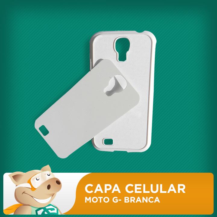 Capa Plástica 2D para Sublimação - Moto G  - ECONOMIZOU