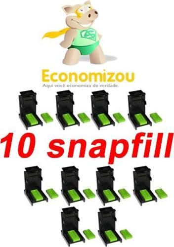 Kit C/ 10 Snapfill + 2 Borrachas+frete Grátis Veja O Anúncio  - ECONOMIZOU