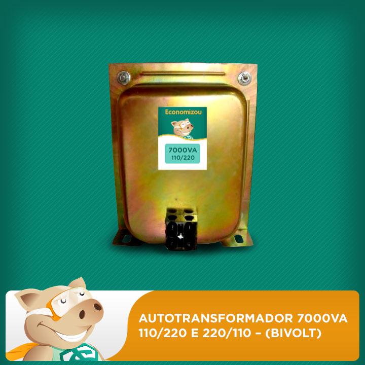 Autotransformador 7000va 110 e 220 e 220 e110  bivolt  - ECONOMIZOU