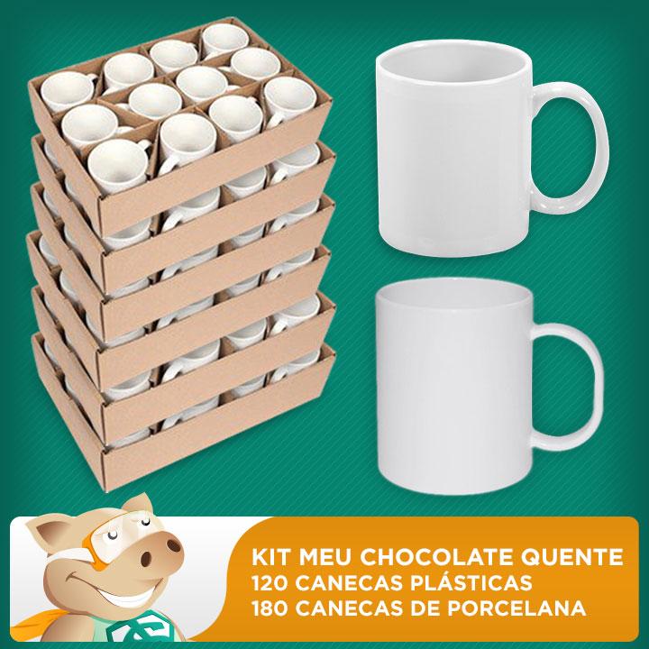 Kit Meu Chocolate Quente  - ECONOMIZOU