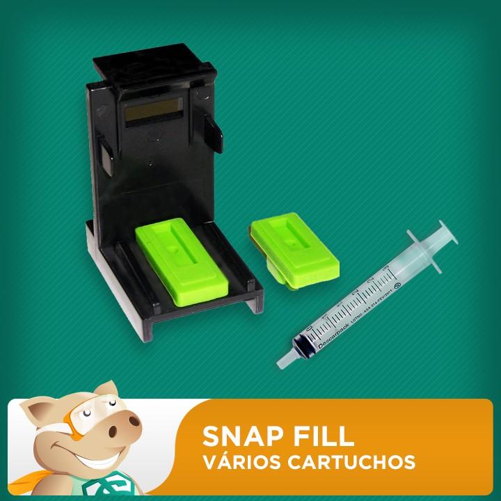 Snap Fill para Vários Cartuchos  - ECONOMIZOU