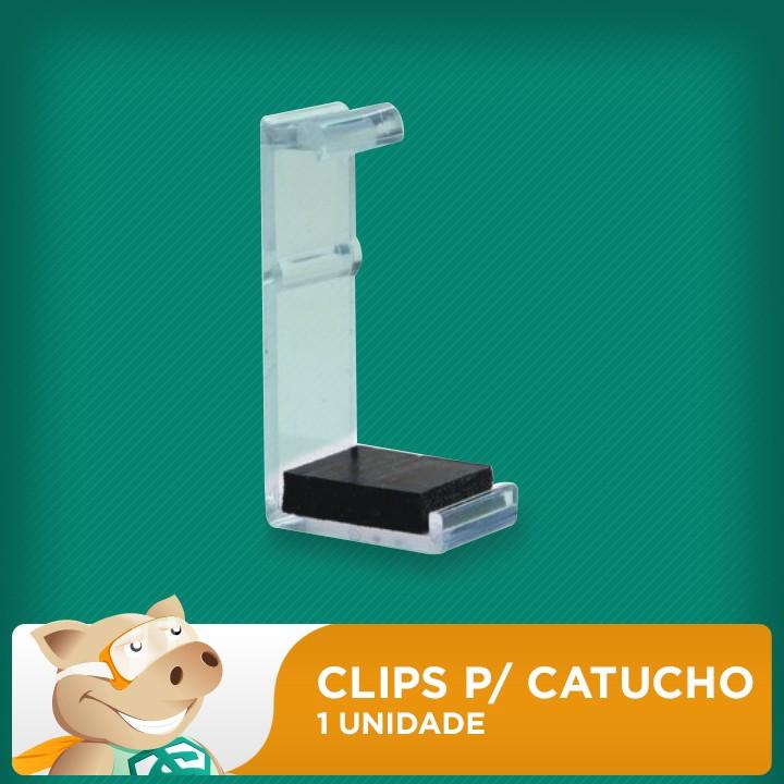 Clip para Cartuchos Serie 3000 HP, Lexmark e Canon  - ECONOMIZOU
