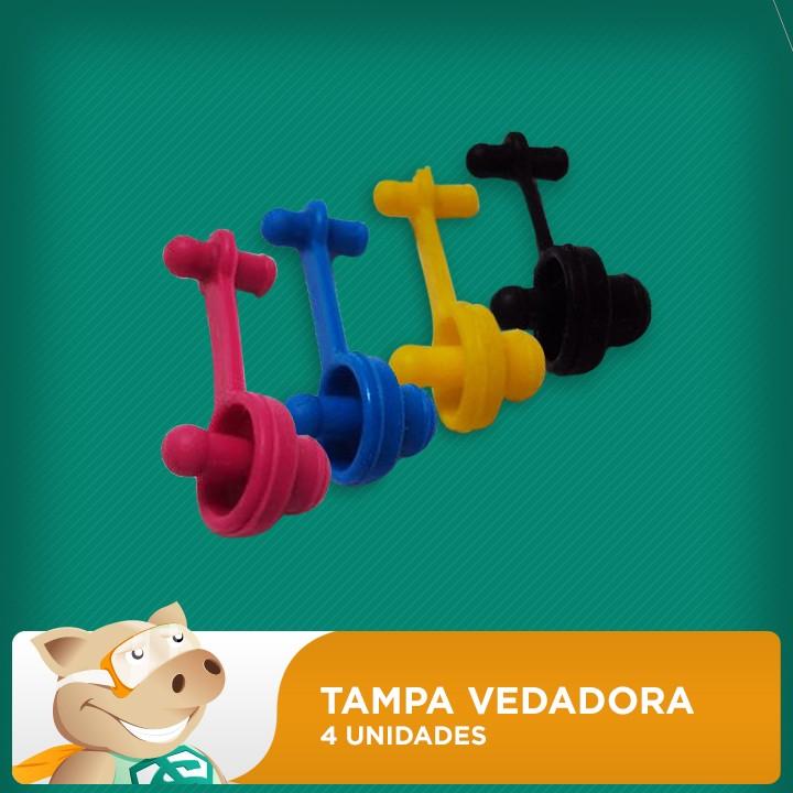 Tampa Vedadora de Reservatório (4 Unidades)  - ECONOMIZOU
