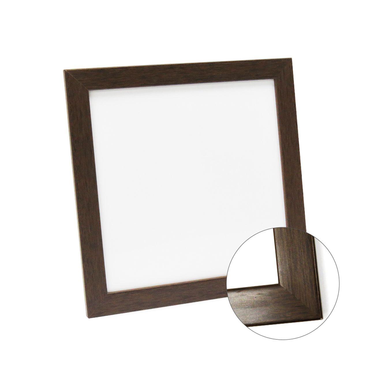 Azulejo 20x20 para sublimação com moldura em madeira  - ECONOMIZOU