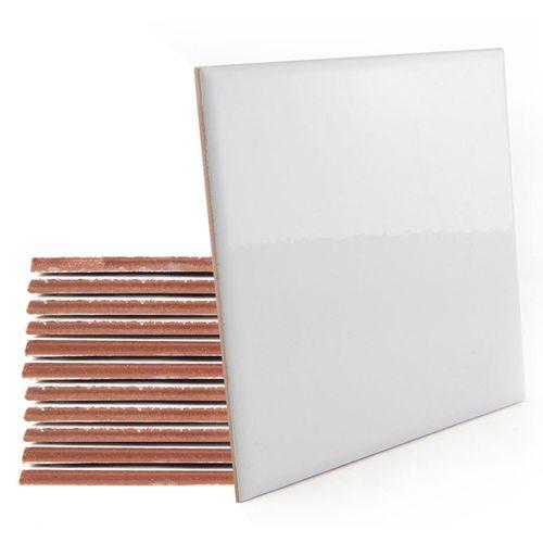 Azulejo Cerâmica Resinado   - 15x15cm  (Unidade)  - ECONOMIZOU