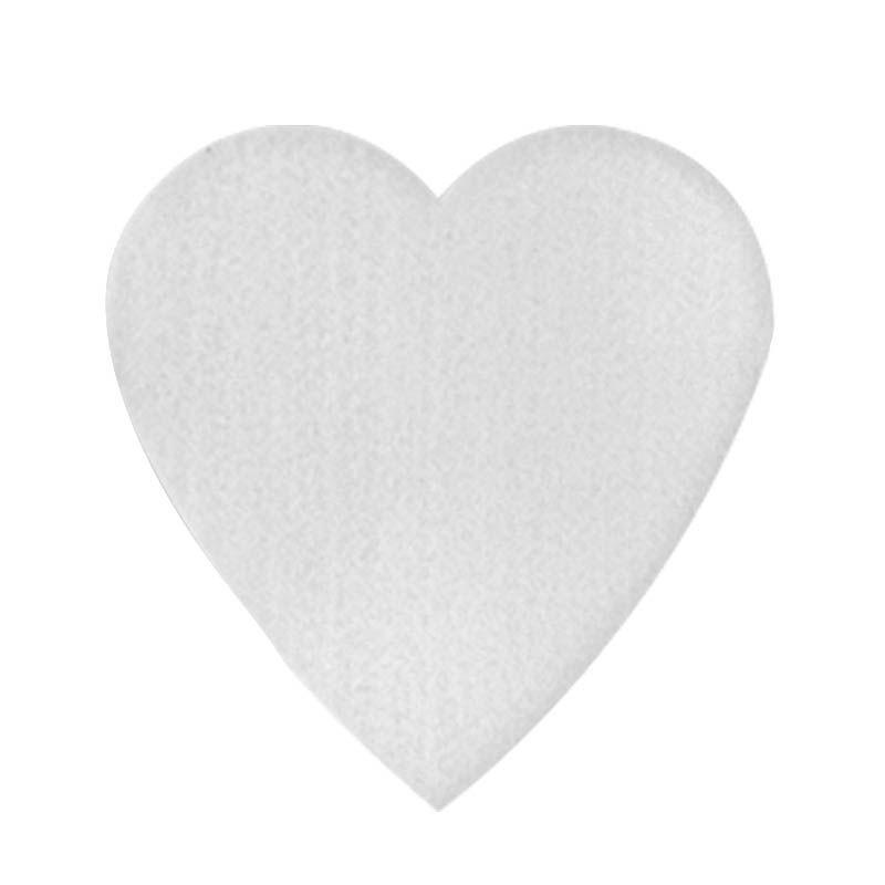 Bolacha de Chopp ou Porta Copos 100% PET - Coração - Cartela com 6 unidades  - ECONOMIZOU