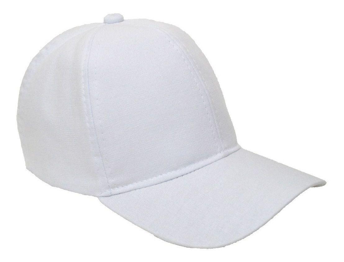 Boné Branco P/ Sublimação - 10 Unidades. Envio Imediato!  - ECONOMIZOU