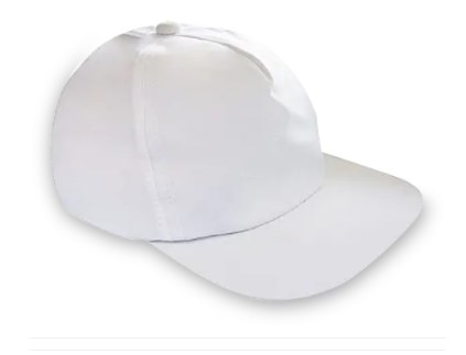 Boné Branco P Sublimação - 60 Unidades.  - ECONOMIZOU