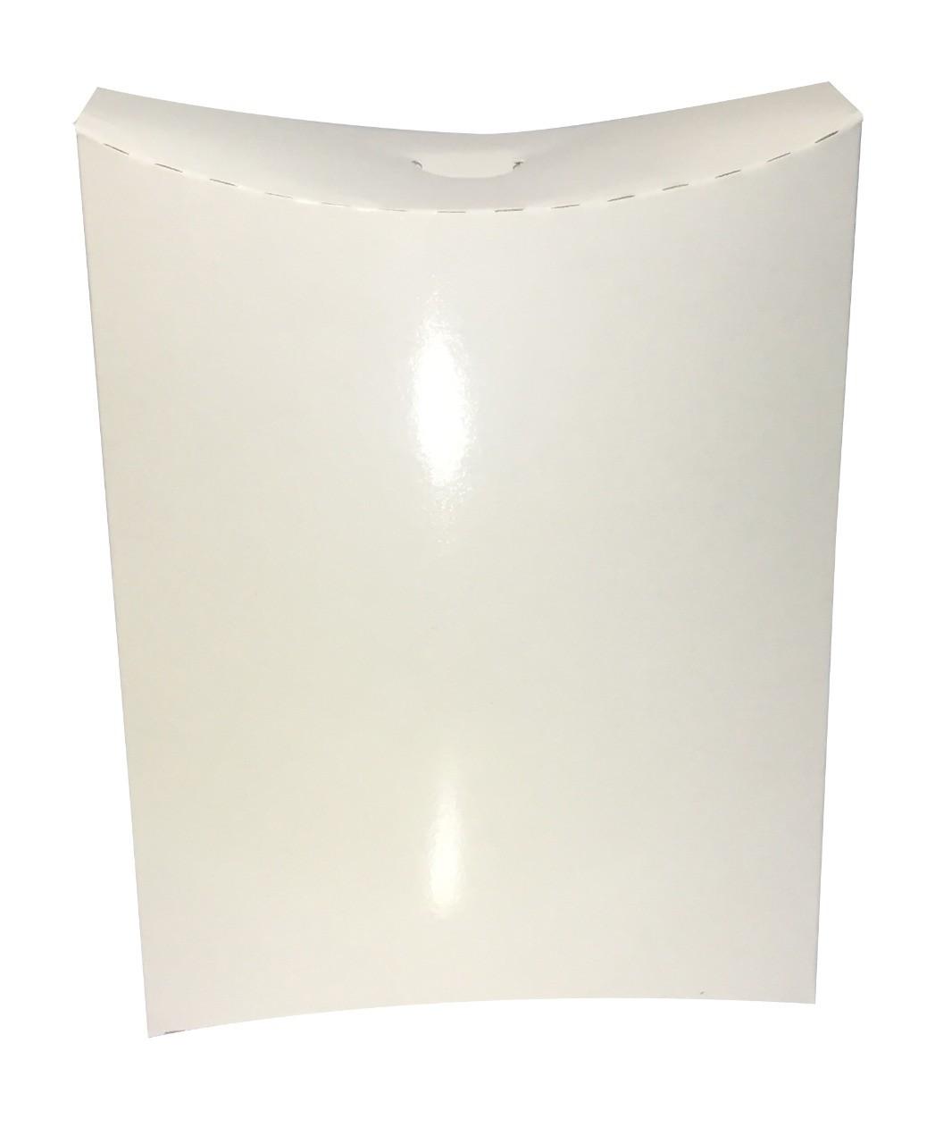 Caixa branca sublimática para camisa - 10 unidades  - ECONOMIZOU