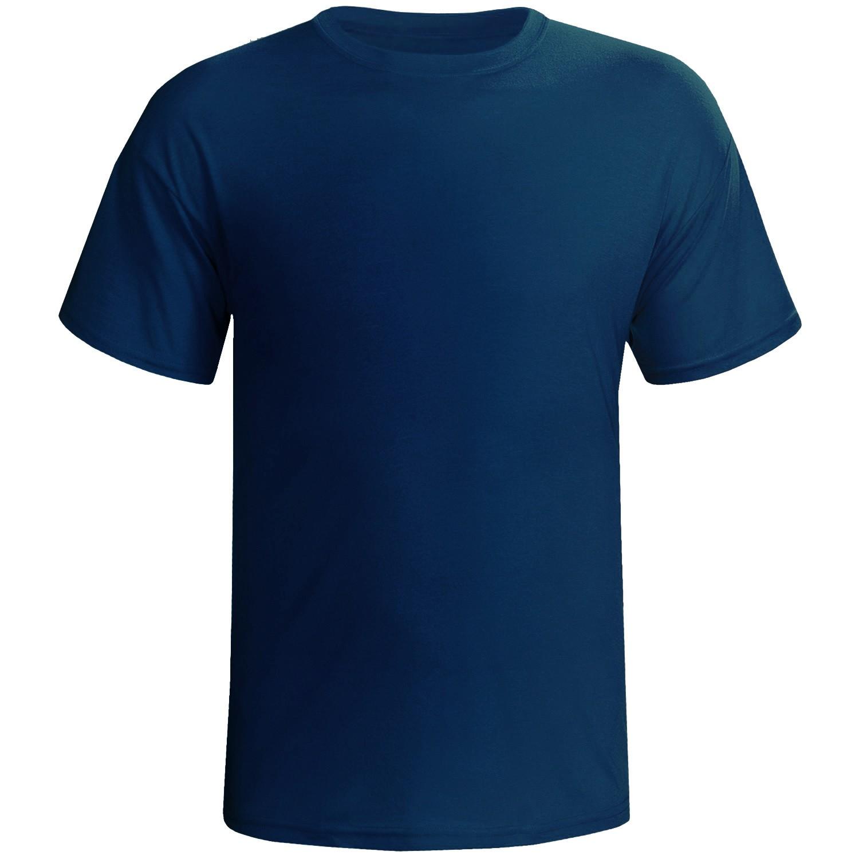 Camisa azul royal 100% poliester para sublimação M  - ECONOMIZOU