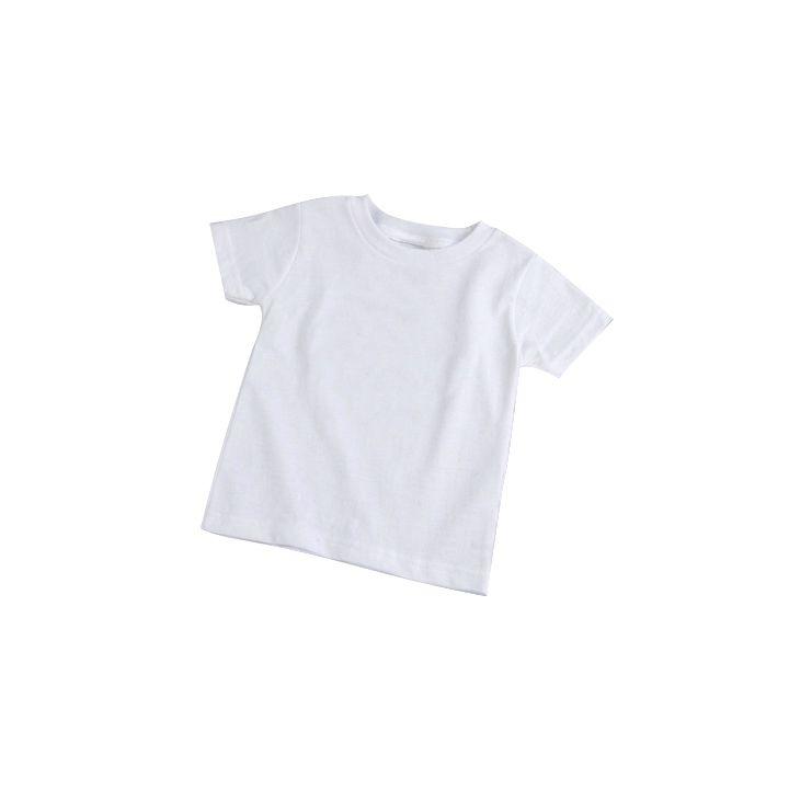 Camisa Baby Look Branca de Poliéster - G  - ECONOMIZOU